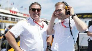 """McLaren: """"En 2021 todos empezamos de cero"""""""
