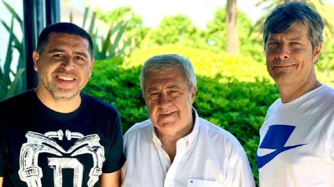 Riquelme, Ameal y Pergolini.