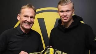 Haaland ya es jugador del Borussia Dortmund.