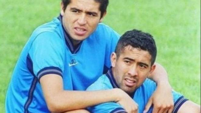 Riqulme y Ruiz, juntos en Boca