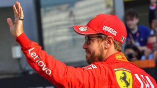 """Vettel: """"Sé que hay libros de autoayuda, pero eso no funciona..."""