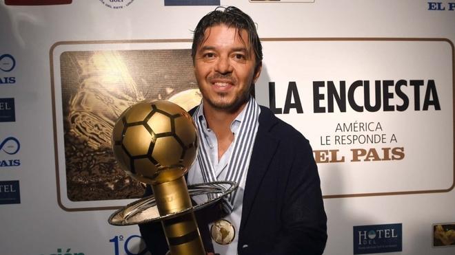 Marcelo Gallardo, el mejor técnico de América