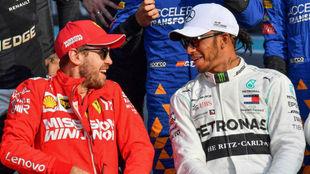 """""""Verstappen le va a complicar la vida a Hamilton en 2020 y Vettel..."""