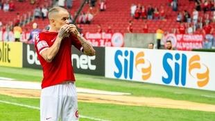D'Alessandro renueva con Inter de Porto Alegre hasta diciembre de...