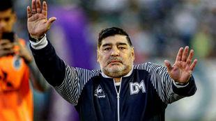 Diego dejó en claro su postura.