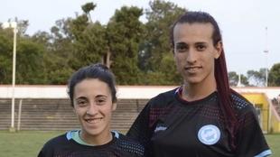 Mara Gómez, la primera jugadora trans en jugar en el fútbol femenino...
