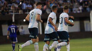 Argentina Sub 23 iguala con Paraguay en un amistoso de cara al...