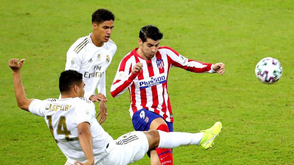 Real Madrid vs Atlético de Madrid, en vivo la final de la Supercopa ...