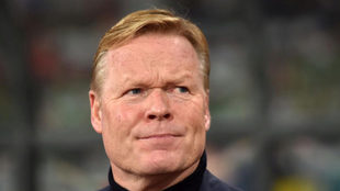 Koeman, segundo entrenador que rechaza a Barcelona