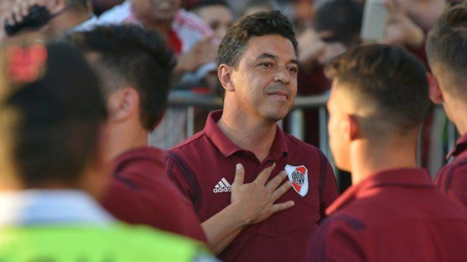 Gallardo explica que lo motiva a seguir siendo el entrenador de River
