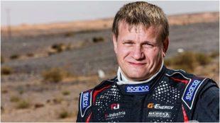 Vladimir Vasyliev, el piloto ruso.