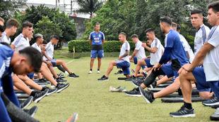 Fernando Batista, técnico del equipo, no confirmó a los once aún.