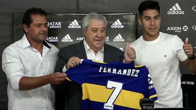 OFICIAL: Pol Fernández, nueva incorporación de Boca