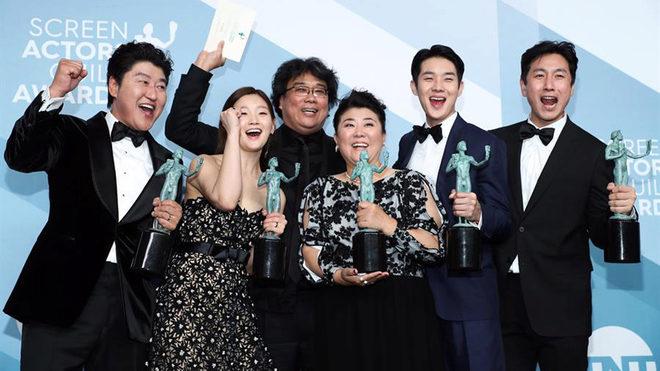 'Parasite' da la campanada en los premios del Sindicato de Actores