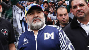 Diego tenía planeado viajar tras el final del torneo, pero debió...