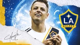 Oficial: Chicharito Hernández, nuevo jugador del Galaxy de Guillermo
