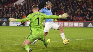 Sergio Agüero vuelve a rescatar al Manchester City