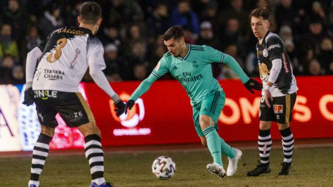 Brahim salva un desastre para Real Madrid