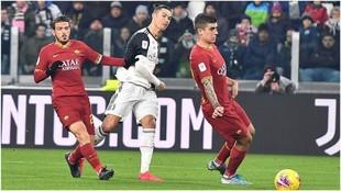 La Juventus pasa a semis con un Cristiano Ronaldo intratable