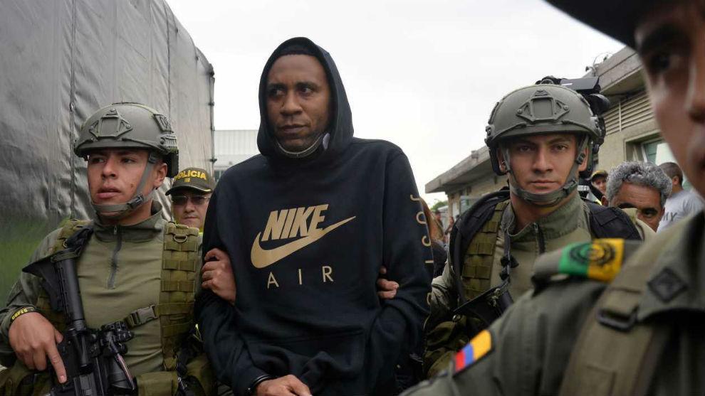Colombia extradita a EU a exseleccionado Jhon Viáfara