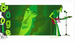 Google homenajea a Luis Alberto Spinetta con un doodle a 70 años de...