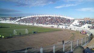 El estadio está a unos 3800 metros sobre el nivel del mar.