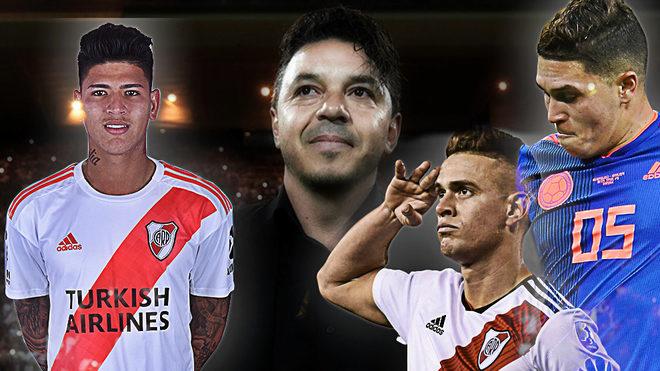 Marcelo Gallardo alimenta a Colombia.
