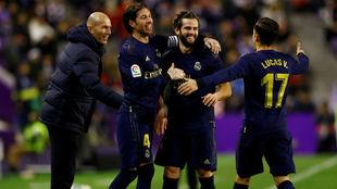 Nacho le da la victoria al Real