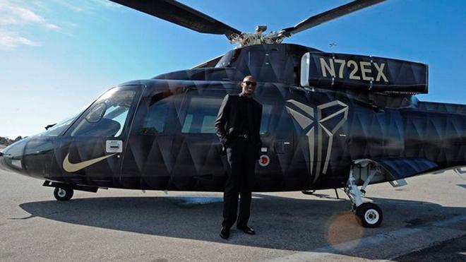 Kobe Bryant y su Sikorsky S-76, el helicóptero en el que perdió la vida