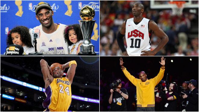 Las 10 mejores jugadas de la carrera de Kobe Bryant