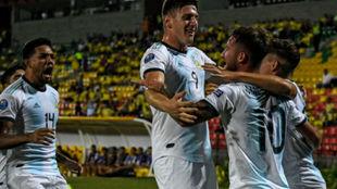 Argentina empezó bien el cuadrangular.