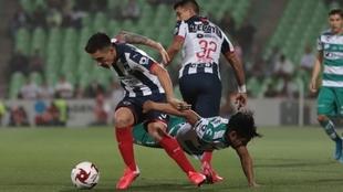 Desafortunado debut de Matías Kranevitter en el Monterrey