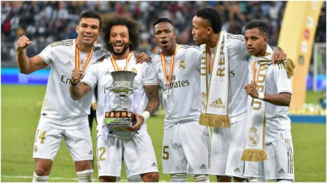 Los brasileños del Real Madrid: Casemiro, Marcelo, Vinícius, Militao...