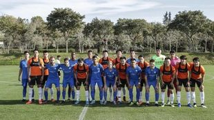 El Wuham jugó un partido amistoso en Sotogrande ante Almuñecar City.