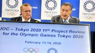 El COI descarta el traslado de los Juegos de Tokyo por el coronavirus