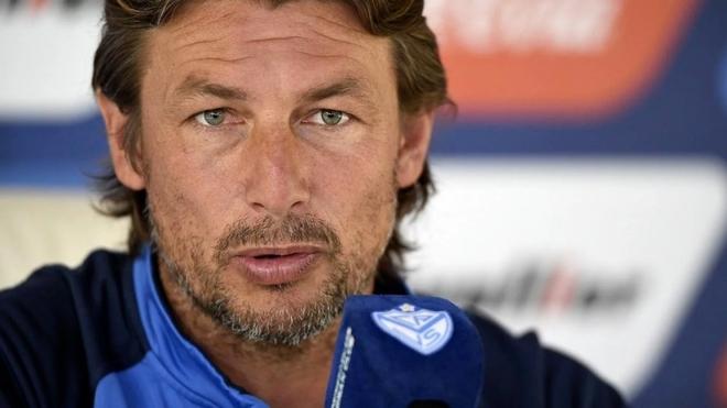 Gabriel Heinze, director técnico de Vélez.