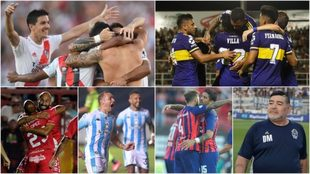 Nueve puntos y mucho por jugar en la Superliga Argentina