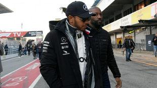 """Hamilton da por hecha su renovación con Mercedes: """"Tenemos los..."""