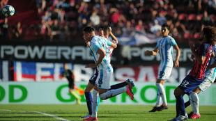 Mauricio Martínez marcó el gol del triunfo