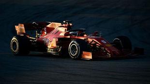 Ferrari desvela la causa del problema del motor de Vettel