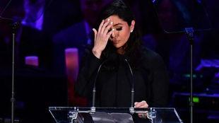 """El emotivo discurso de Vanessa Bryant: """"Dios sabía que no..."""