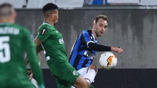 Inter vs Ludogorets, a puertas cerradas.