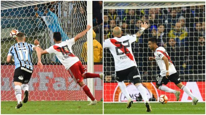 Los goles del Pity Martínez.
