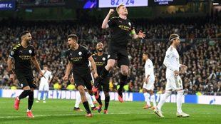 Una ráfaga del Manchester City silencia al Bernabéu