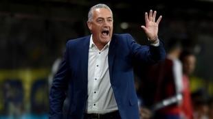 Gustavo Alfaro, firme candidato a dirigir al Colo Colo