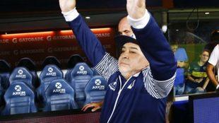 Diego Maradona elogió a Carlos Tevez