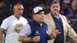 La 'gallinita' de Diego Maradona que hizo enloquecer a La...