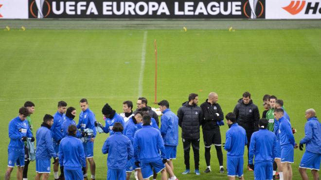 Aplazan los partidos de Europa League