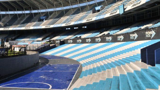 El fútbol argentino, a puertas cerradas