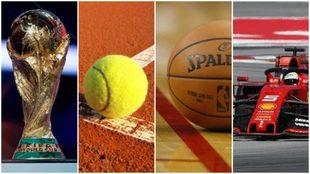 El deporte afectado por el coronavirus.